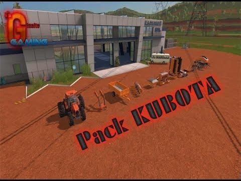 Pack KUBOTA v1.0