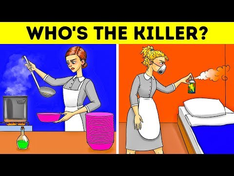 11 EASY CRIME RIDDLES WITH ANSWERS  EVERY ADULT FAIL TO SOLVE