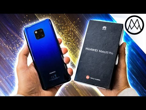 Huawei Mate 20 Pro UNBOXING - I'm Switching.