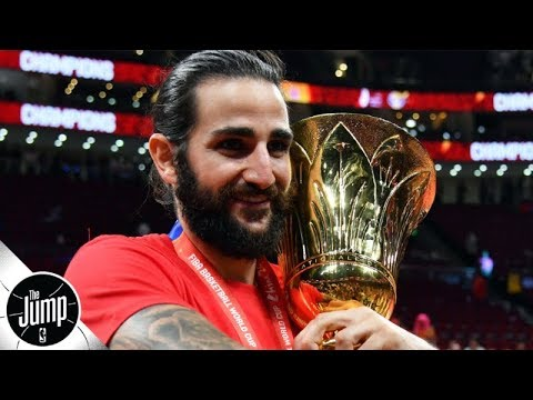 Video: Ricky Rubio won FIBA World Cup MVP -- is he the Suns' savior at PG? | The Jump