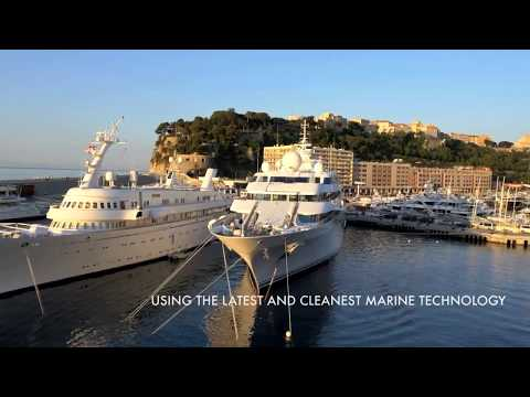 Monaco and the Port of Ventimiglia
