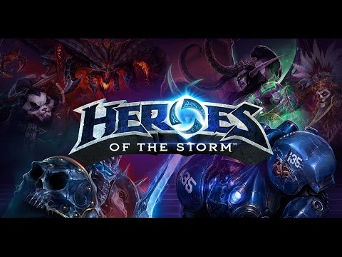 heroes of the storm - gameplay base moba