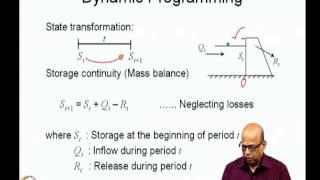 Mod-03 Lec-16 Dynamic Programming: Reservoir Operation Problem