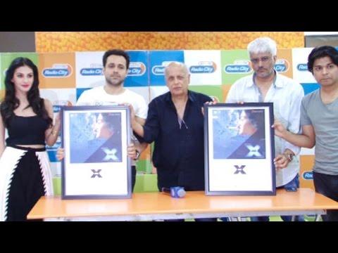 Emraan Hashmi, Amyra Dastur, Mahesh Bhatt At Music