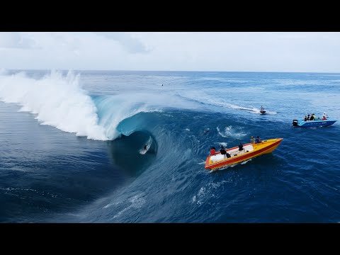 Breathtaking Surfing Video Done By Drones