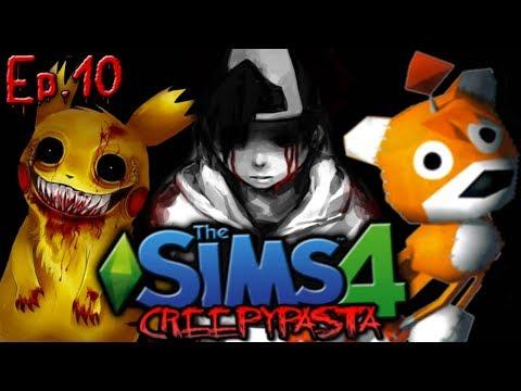 Adding Gaming Creepypastas | The Sims 4: Creepypasta Reboot - Ep. 10