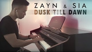 Video ZAYN ft. Sia - Dusk Till Dawn (piano cover by Ducci) MP3, 3GP, MP4, WEBM, AVI, FLV Juli 2018