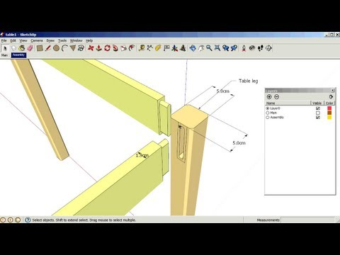 sketchup - Sketchup tutorial 5: Using scenes and layers together to create multiple views in the same drawing. http://woodgears.ca/sketchup/index.html#2.
