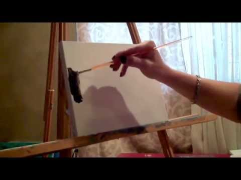 Light Up Your Paintings! - adding LED lights to paintings, Christina Bell