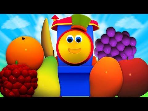 Bob chuyến tàu | học trái cây với bob | bài hát của trẻ em biên dịch trong tiếng việt | Fruits Train - Thời lượng: 27:25.