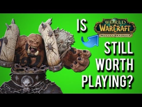 wow - Is WoW still worth playing? MoP isn't too shabby... if you like running the same raid 9 million times. So many improvements to the game though! IS THE JUGGER...