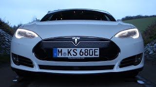 ' 2016 TESLA Model S P90D ' Test Drive & Review /// Autobahn / City / Country /// - TheGetawayer by The Getawayer