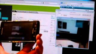 DWCamera(network live camera) YouTube video
