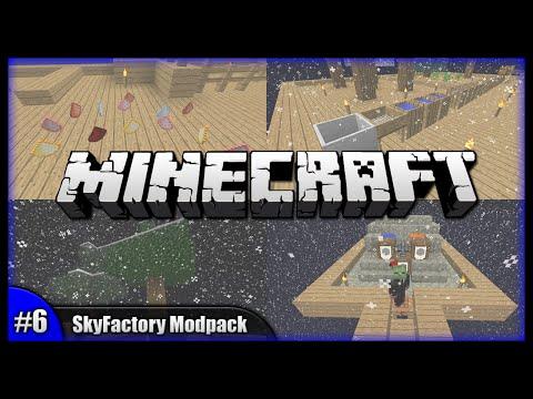 Minecraft Walkthrough - Crucibles & Goodie Bags!    SkyFactory