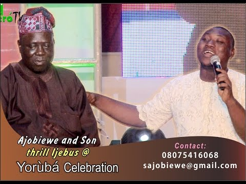 Ajobiewe And Son Thrill IJEBUs At Yoruba Celebration