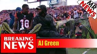 AJ Green, buffalo bills, bengals, cincinnati bengals CINCINNATI -- The Bengals lost wide receiver A.J. Green for multiple weeks...