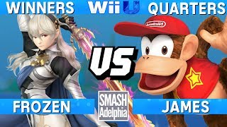 This Super Smash Bros. 4 Wii U tournament match features Frozen as Corrin vs James as Diddy Kong. This Winners Quarters match at SMASHADELPHIA 2017 was livestreamed on 06/25/17.Enjoy the video? Hit the like button and drop a comment and let us know your favorite part. Share it with your friends and spread the hype!Check out our website:► http://clashtournaments.comWatch our live streams:► http://twitch.tv/clashtournaments► http://hitbox.tv/clashtournamentsFind us on social media:► http://facebook.com/clashtournaments► http://youtube.com/clashtournaments► http://twitter.com/clashtournament► http://instagram.com/clashtournamentsBe sure to Follow and Subscribe to us to keep up to date on all of our content. Click the bell next to the subscribe button to receive instant notifications on all uploads!