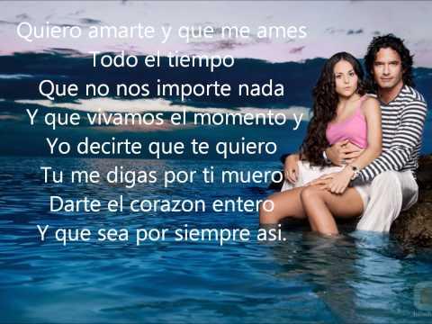 RegalaMe Un Beso [Mar De Amor] Fanny Lu Con Letras