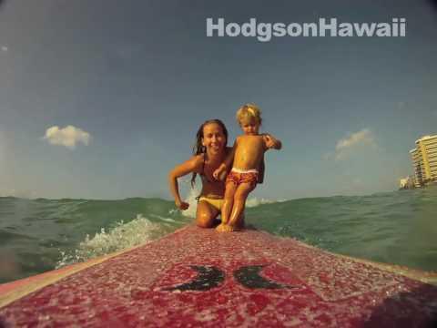 Surfing Baby