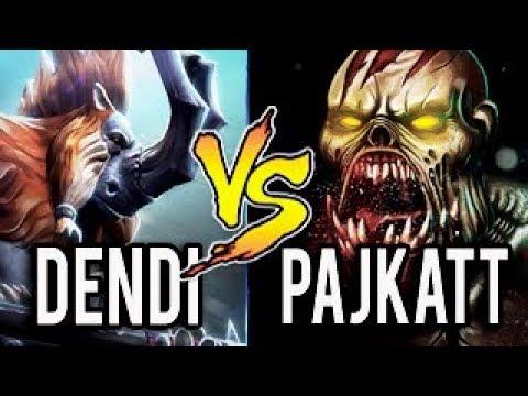 OLD NAVI VS NEW NAVI TEAM — Dendi vs Pajkatt - Legends Never Die Dota 2