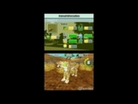 Zoo Tycoon 2 DS Nintendo DS Gameplay - Feed The