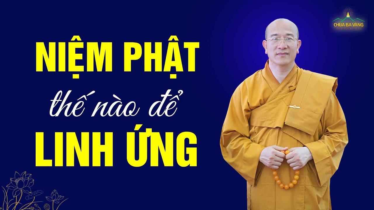 Niệm Phật thế nào để được linh ứng và được chư Phật, Bồ Tát gia hộ?