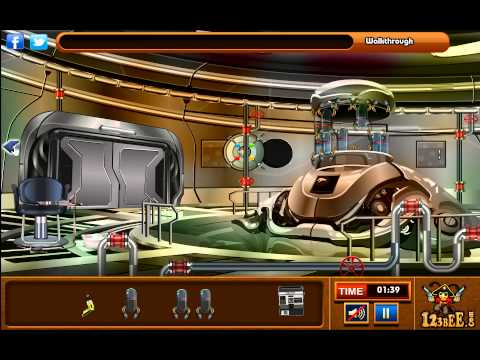 Escape from the Alien Ship Walkthrough