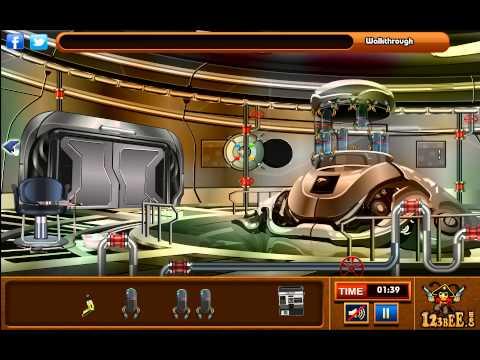 Escape from the Alien Ship Walkthrough