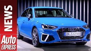 New 2019 Audi A4  - can the facelifted A4 take the fight to the new BMW 3 Series? by Auto Express