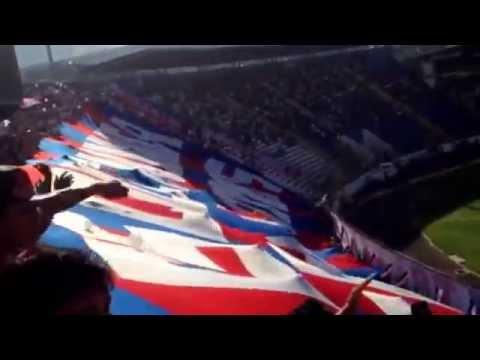 [31/8/14] Bandera gigante en el clásico capitalino. - La Ultra Fiel - Club Deportivo Olimpia