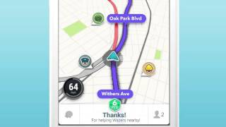 Waze - GPS, Maps & Traffic YouTube video