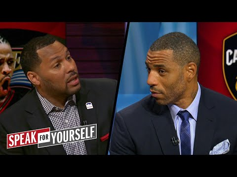 Is LeBron's run more impressive than Iverson's? | NBA | SPEAK FOR YOURSELF