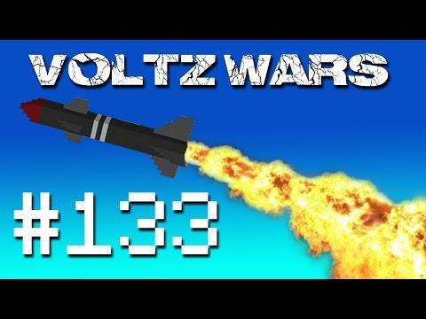 Minecraft Voltz Wars - AA Guns! #133