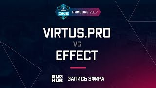 Virtus.pro vs Effect, ESL One Hamburg 2017, game 1 [v1lat, GodHunt]