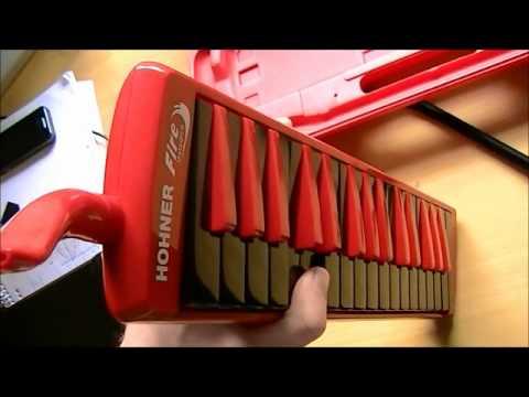 Hohner Fire 32 Ocean 32 Melodica Test Deutsch Vorstellung