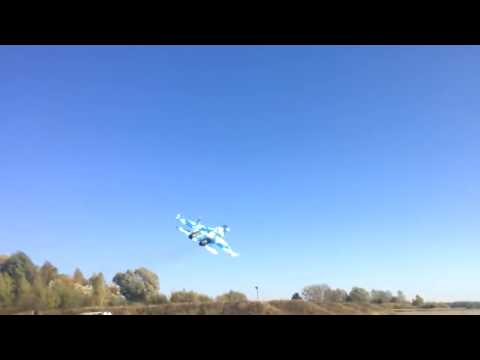 Watch this scary video of a Ukrainian Su27 almost crashing into the