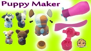 Poppit Puppies Clay Dog Do It Yourself Maker Craft Set with Happy Places Shoppies Dolls