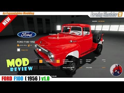 1956 Ford F100 v1.0