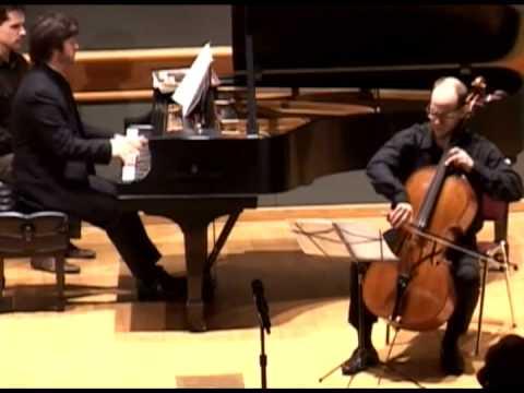Sergei Rachmaninoff: Cello Sonata, Op.19 (Pt.1) (Leon Livshin, Renaud Déjardin)