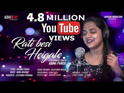 Video RATI BESI HEI GALE l Sad Romantic Song by ASIMA PANDA l PRAMOD PARIDA l MUNA MOHANTY download in MP3, 3GP, MP4, WEBM, AVI, FLV January 2017