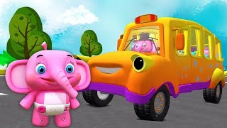 Video roda di bus   Lagu Anak   kartun anak   taman kanak-kanak   Little Treehouse   The Wheels On The Bus MP3, 3GP, MP4, WEBM, AVI, FLV Juni 2018