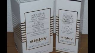 REVIEW: Sisley Paris Express Flower Gel, Eye Contour Mask
