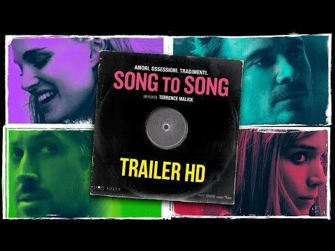 Preview Trailer Song to Song, trailer italiano