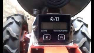 Тахометр счетчик моточасов для мотоблоков и лодочных маоторов видео
