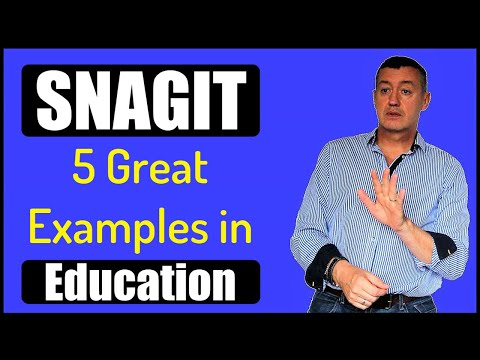 SnagIT-5 great examples in Education