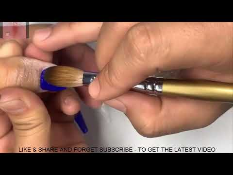 NEW NAIL ART 2019/NAIL TECHNICIAN-SMILE/THE BEST LONG NAIL COFFIN SHAPE/520