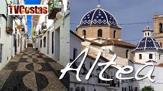 Benidorm - Costa Blanca Spain  city photo : The Beautiful Town of Altea Nr Benidorm Costa Blanca Spain (Tour)
