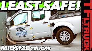 These Are the Least & Most Safe Midsize Trucks You Can Buy Today by The Fast Lane Truck