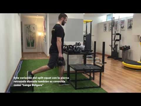 Split Squats - Alternativas isolaterales a la sentadilla tradicional[;;;][;;;]