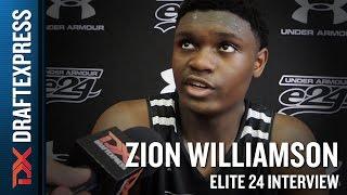 Zion Williamson Elite 24 Interview